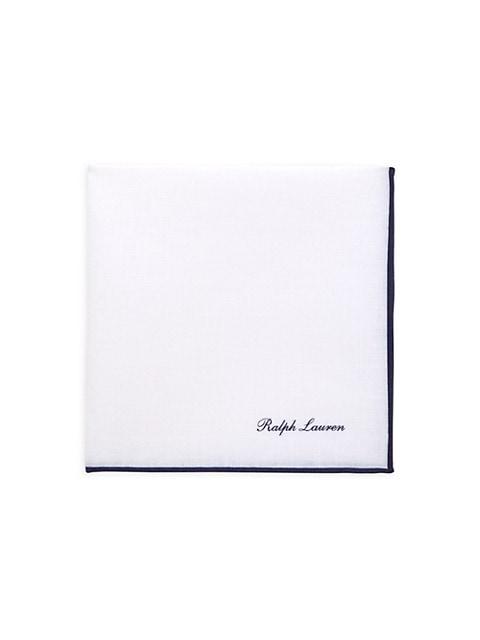 Monogram Silk Pocket Square