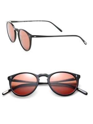 The Row For Oliver Peoples O'Malley NYC 48MM Round Sunglasses