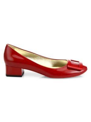 4bb2f5edbdd Saint Laurent - Tribute 75 Patent Leather Platform Sandals - saks.com