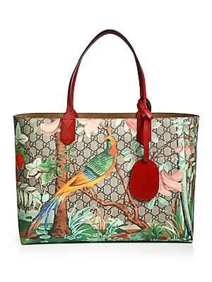 36edffe59 Gucci - Gucci Tian GG Supreme Tote - saks.com