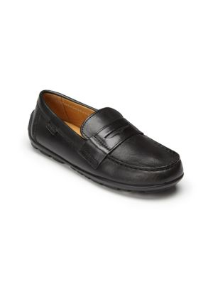 Geox Kid S Junior Fast Leather Loafers