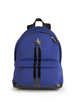 d92077b8c854 Givenchy Neoprene   Leather Star Backpack