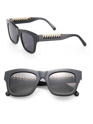 Falabella Chain 49MM Square Sunglasses