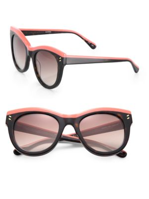 Double Pins 51MM Cat's-Eye Sunglasses