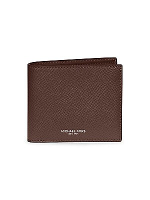 59c9bf80e032 Michael Kors - Leather Billfold Wallet - saks.com