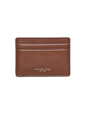 Michael kors harrison business card holder saks michael kors leather card case colourmoves