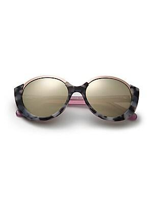 36de8179eb Cutler and Gross - 1202 Mai Tai 55MM Acetate   Metal Sunglasses - saks.com