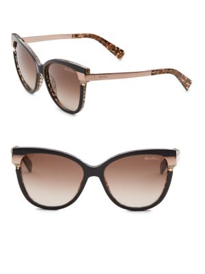Max Mara Layers Ii 51mm Cat Eye Sunglasses