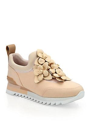 022765fbe7ee8 Tory Burch - Blossom Neoprene Sneakers - saks.com