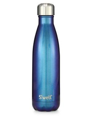 S'WELL Galaxy Neptune Stainless Steel Bottle/17 Oz. in Blue