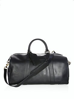 6baa3469a009 Polo Ralph Lauren. Leather Duffel Bag