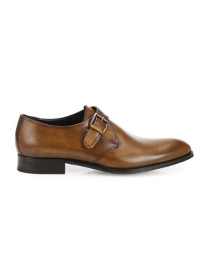 To Boot New York Emmett Leather Monk Strap Shoes