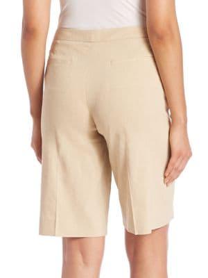 KOBI HALPERIN Linens Isla Solid Shorts