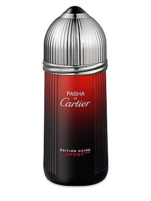 Image of An energized and invigorating version of Pasha de Cartier Edition Noire. The fougère accord and cedar depth are refreshed by a citrus sea mist with fruity overtones. 3.3 oz. Made in France. Fragrances - Cartier Fragrances. Cartier. Size: 5 Oz.
