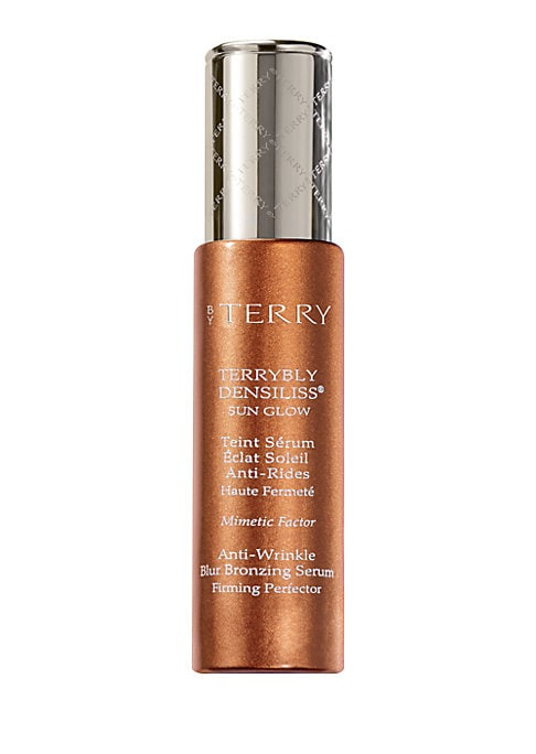 Image of From the Sun Cruise Collection. This tinted bronzing serum enriched in skincare benefits with wrinkle control, smoothing and firming properties, ensures a flawless sheer tan. Its exclusive DENSILISS? technology combines Mimetic Factor - a patented plant-b