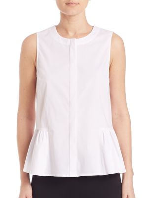 COLLECTION Sleeveless Hi-Lo Blouse by Saks Fifth Avenue