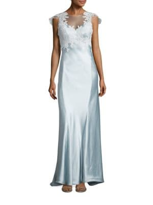 Grace Satin Gown by ANNA MAIER