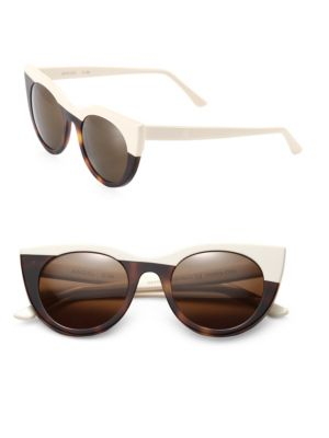 49mm Angel Cateye Sunglasses