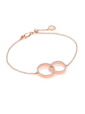 Monica Vinader Bracelets Naida Linked Bracelet