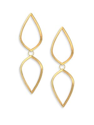 ILA Alina Drop Earrings in Gold