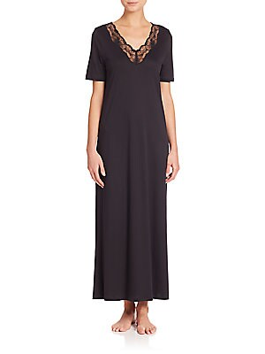 8db8acf74f Hanro - Cotton Deluxe Long Tank Gown - saks.com