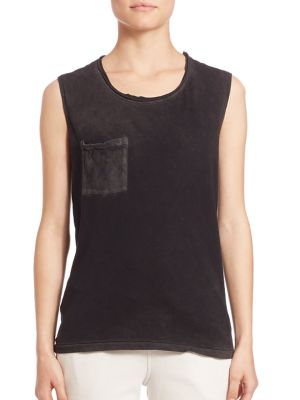 Marbella Muscle Supima Cotton Tank Top by Cotton Citizen