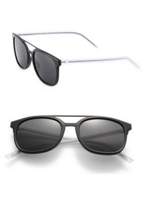 Black Tie 22 53MM Round Panto Sunglasses