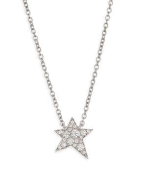 HEARTS ON FIRE Illa Cosmic Diamond & 18K White Gold Necklace