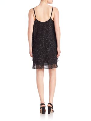 ALICE AND OLIVIA Dresses Tiered Tank Shift Dress