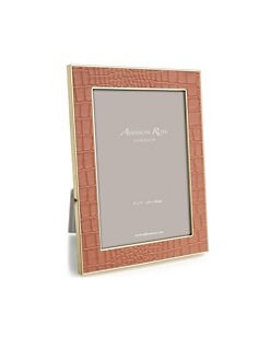2b0d9368eb5f QUICK VIEW. Addison Ross. Faux Crocodile Easel Back Photo Frame
