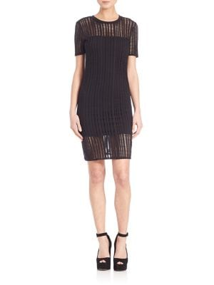 Buy T by Alexander Wang Short Sleeve Sheath Dress online with Australia wide shipping