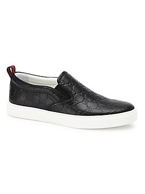 ea813263 Gucci - Dublin Guccissima Leather Sneakers