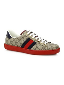 Product image. QUICK VIEW. Gucci. New Ace GG Supreme Sneaker 151d26287b12