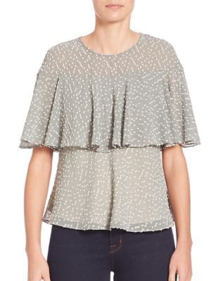 Ione Bell Sleeve Two-Layer Top by Prose & Poetry