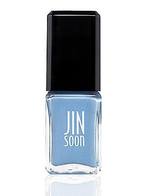 Image of A fresh, bright baby blue shade as clear as the Mayan sky. 0.37 oz. Made in USA. Cosmetics - Treatment Brand. JINsoon. Color: Maya Blue.