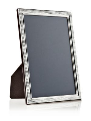 Image of Sterling Picture Frames Droplets Classic Sterling Silver Picture Frame