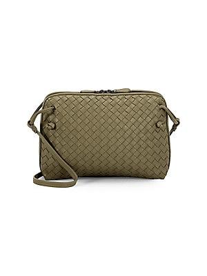 6d242656a5b Bottega Veneta - Intrecciato Leather Zip Pouch - saks.com