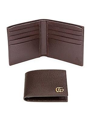 aa174590816 Gucci - Leather Bi-Fold Wallet
