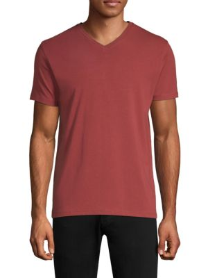 PATRICK ASSARAF Jeff Regular-Fit Tee in Red Earth