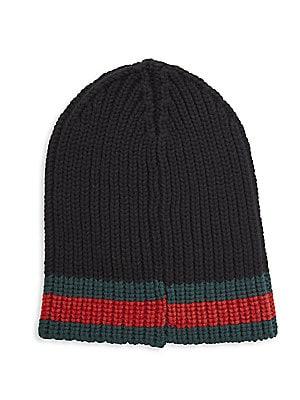 6b9c5065213 Gucci - Charui Striped Wool Hat