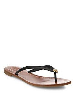 3e3c3a7e25c Tory Burch Terra Leather Thong Sandals from Saks Fifth Avenue - Styhunt