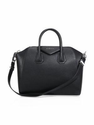 Leather Satchel Antigona Antigona Medium Leather Medium Satchel 0myNnwOv8
