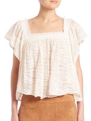 Flutter Sleeve Top by Free People