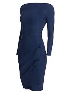 cf01d37680f0c Chiara Boni La Petite Robe. Cassandre Boatneck Sheath Dress