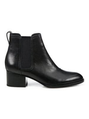 Rag Amp Bone Walker Block Heel Leather Chelsea Boots