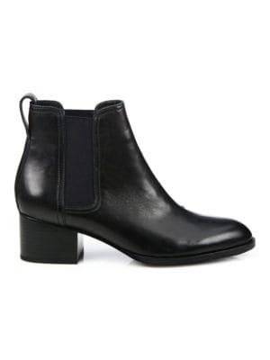Rag Amp Bone Walker Block Heel Leather Chelsea Boots