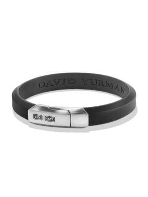 David Yurman Streamline Rubber Id Bracelet