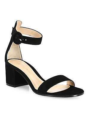 8e0c5bf0c31 Manolo Blahnik - Lauratomod Leather Sandals - saks.com