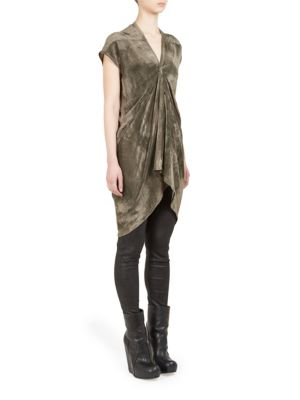 Kite Carapace Tunic by Rick Owens