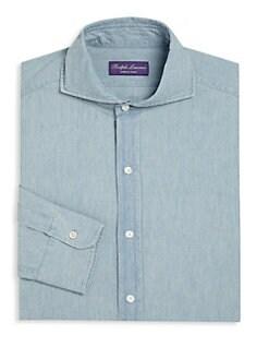 fd59cc513eaf Dress Shirts For Men | Saks.com